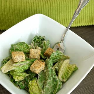 The Best Raw Vegan Caesar Salad Dressing/Dip.