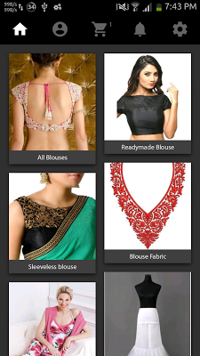 Blouse Designs Online Shopping - screenshot