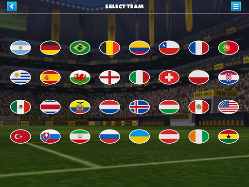 SOCCER FREE KICK WORLD CUP 17  screenshots 8