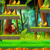Jungle Banana Monkey Kong Run