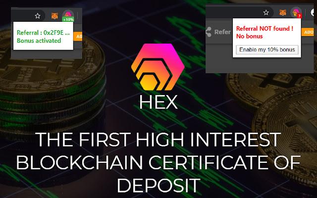 HEX Referral Bonus
