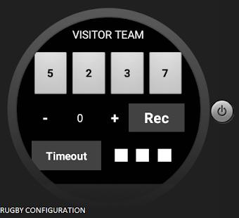 Universal Referee Timer - náhled
