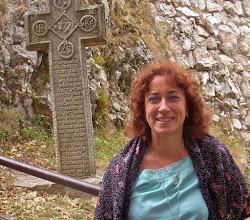Photo: Dra. Gabriela Tigu en el Bran Castle - Rumania