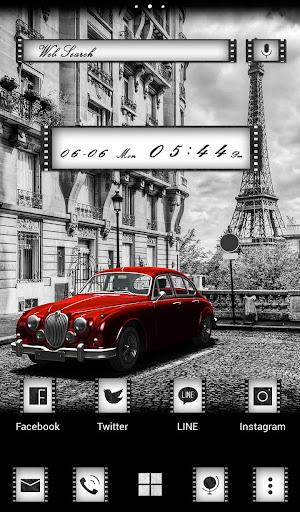 Retro Car in Paris Wallpaper 1.0.0 Windows u7528 5