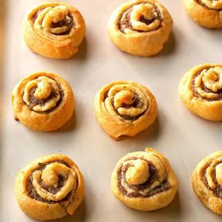 Sausage Chive Pinwheels Recipe