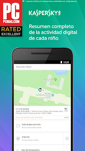 Kaspersky SafeKids: Control parental para Android Screenshot