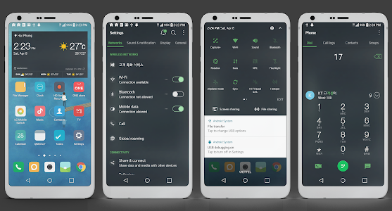 MIUI Dark Theme LG G6 V20 & G5 2 0 APK for Android