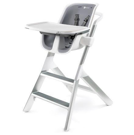 4Moms Matstol, White/Grey