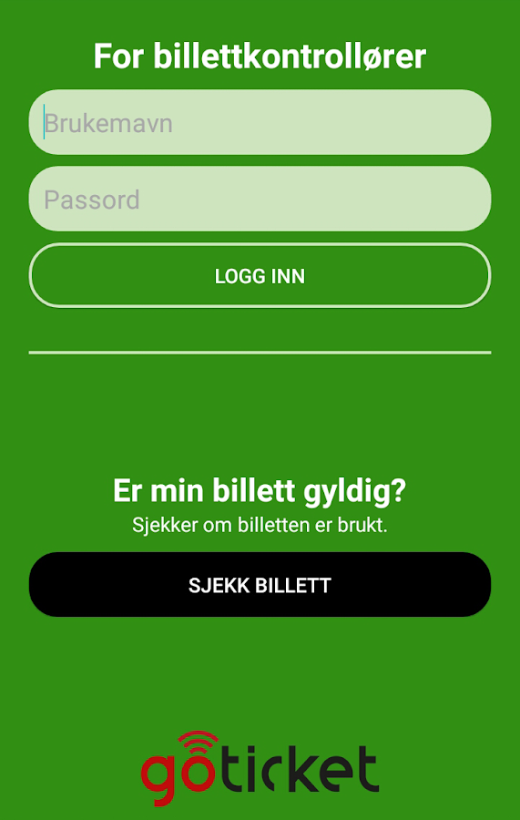 GoTicket- screenshot