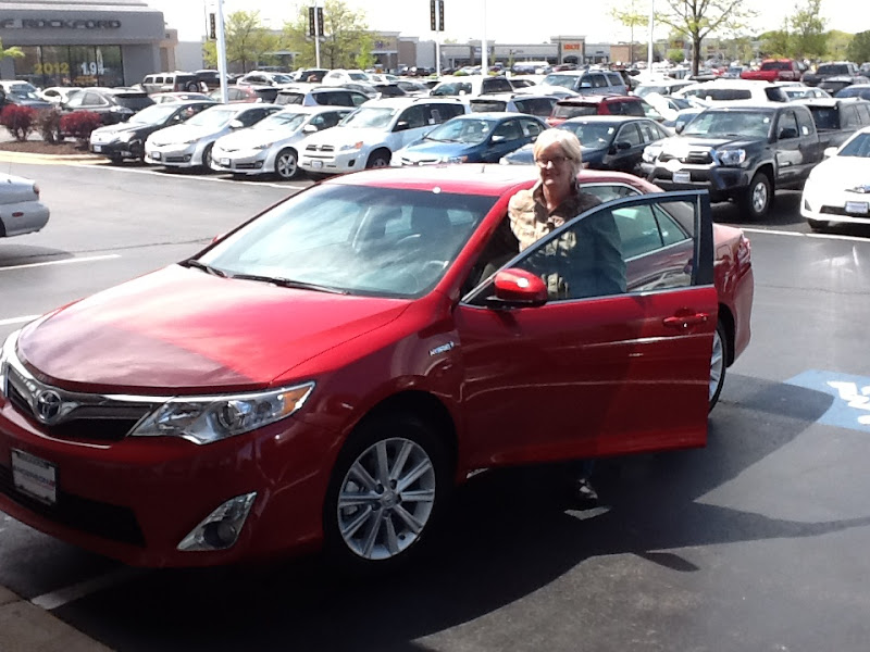 Photo: Al Smith would like to congratulate Daryl on her 2012 Toyota Camry XLE!!!