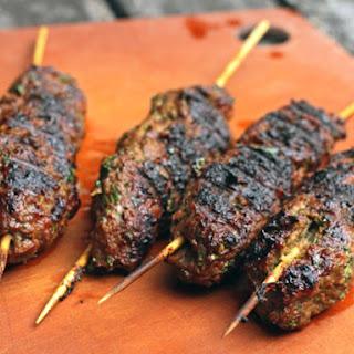Jeff Koehler's Moroccan Grilled Lamb Kefta Brochettes.