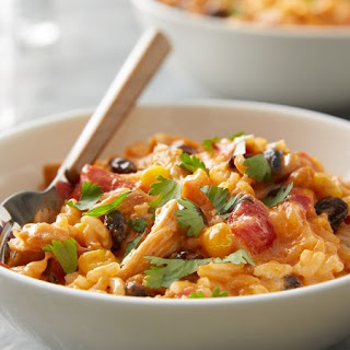 Slow-Cooker Southwest Cheesy Chicken and Rice.