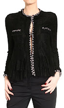 Photo: DOLCE & GABBANA http://store.giglio.com/en/woman/clothing/blazer/lace-chains-on-hem.html