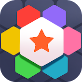 Hexagon Puzzle- Match & Fight