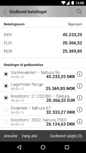 Mobilbank Erhverv screenshot 4