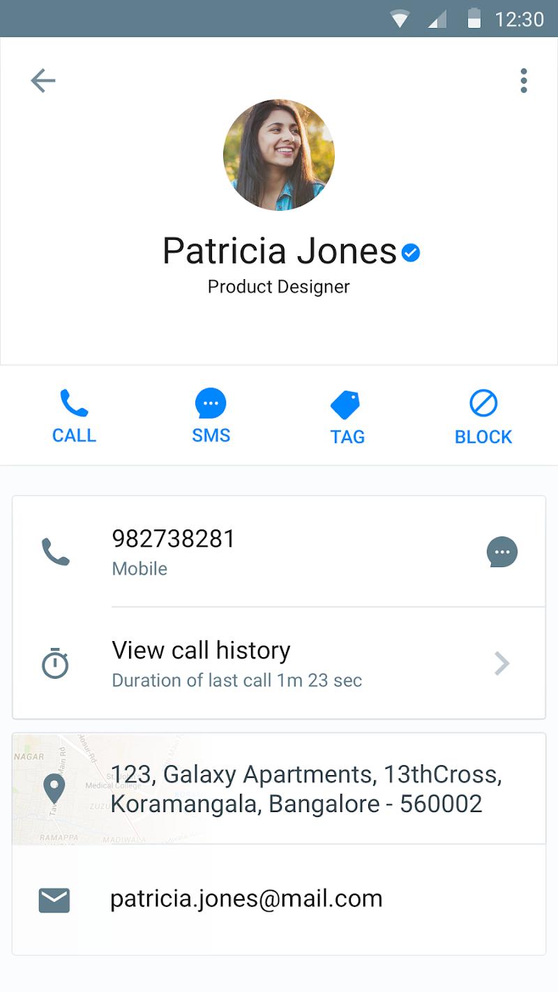 Truecaller: Caller ID, SMS spam blocking & Dialer Screenshot 5