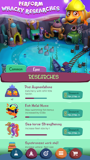 Tap Fish Tycoon - screenshot