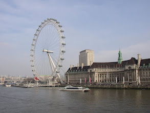 Photo: The London Eye.