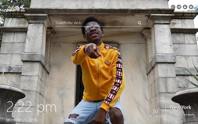 Lil Nas X HD Wallpapers Hip Hop New Tab Theme