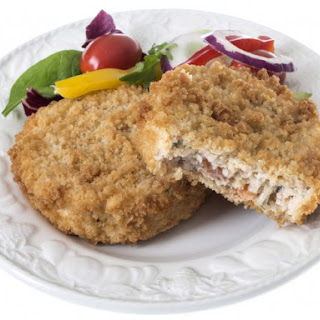 Pan-Fried Fresh Salmon Cakes.