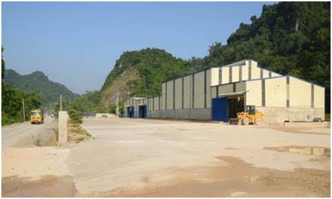 sản xuất đá vôi