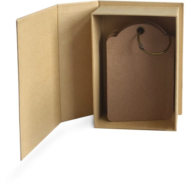 Regular Book Box-Kraft