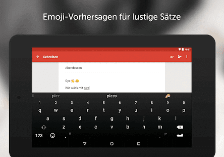 SwiftKey Tastatur Screenshot