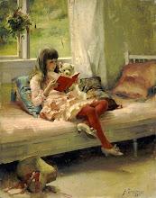 """Photo: Albert Edelfelt, """"Buoni amici"""" (1881)"""