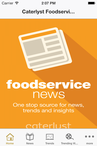 Caterlyst Foodservice News