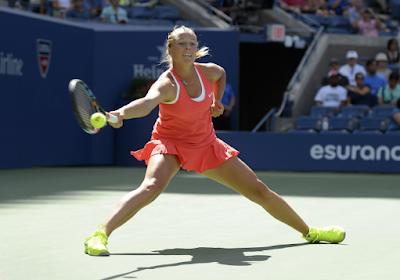 Anett Kontaveit als eerste Estse ooit in de kwartfinales van de Australian Open