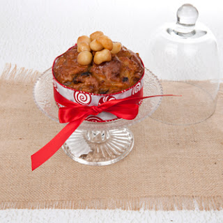 Honey Macadamia Christmas Cake