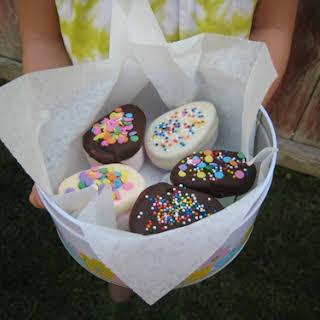 Chocolate Marshmallow Eggs.