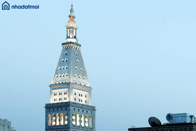Thiết kế phòng hình chóp áp dụng cho đỉnh tháp - cách tính m3 phòng