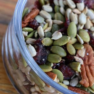 Pumpkin Sunflower Trail Mix - Simple and Delicious   Yum Recipe