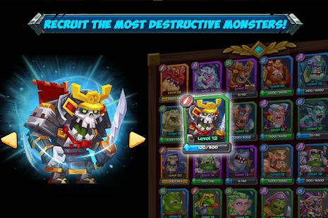 Tactical Monsters Rumble Arena -Tactics & Strategy- screenshot thumbnail