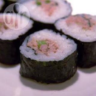 Tinned Tuna Sushi