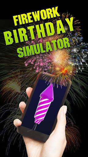 Firework Birthday Simulator