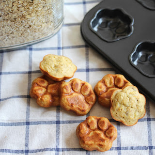 Peanut Butter Banana Dog Treats