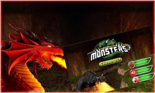 叢林怪物3D衝突
