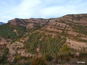 Photo: Cresta de Gelat per on baixarem