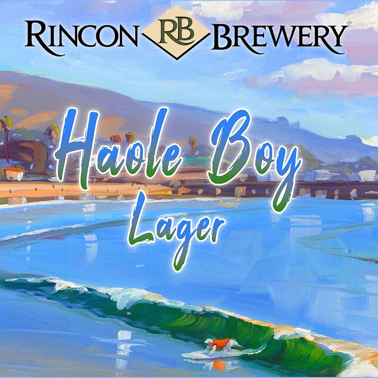Logo of Rincon Brewery Haole Boy Lager
