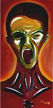 Photo: Die Angst, Öl auf Leinwand, 2003, 40 x 80 cm