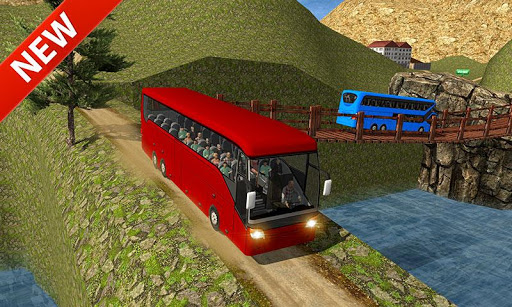 Uphill offroad bus driving sim 1.0.8 screenshots 4