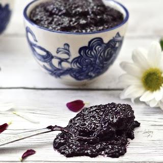 Blueberry Coconut Chia Seed Jam (Paleo, Gluten Free, Sugar Free, Whole 30, Vegan) Recipe