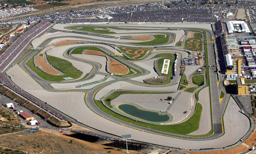 Circuit Ricardo Tormo Valencia moto gp F1