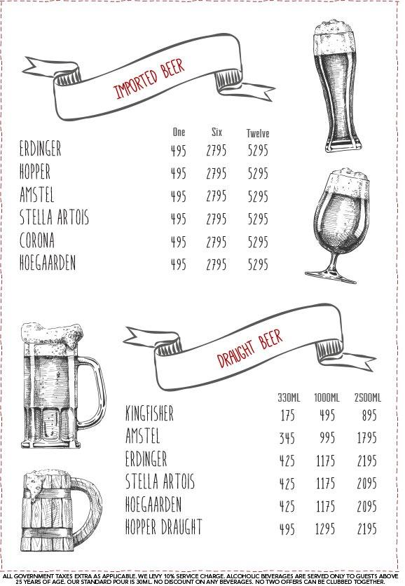 Warehouse Cafe menu 7