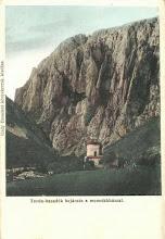 Photo: Cheile Turzii - cabana veche - inainte de 1918 -  sursa - http://postcards.hungaricana.hu/hu/11933/