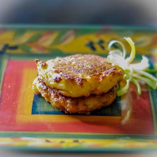 Cauliflower & Cheese Fritters.