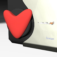 Air Vent Heart Medallion - iHack 14