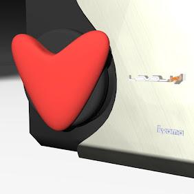 Air Vent Heart Medallion - iHack 14